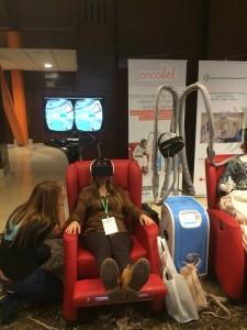 Simulador de sensibilización radioterapia.