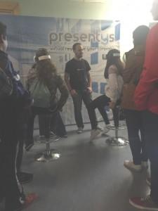 El stand de Presentys generó largas colas.